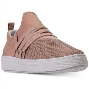 Girls pink Steve Madden sneakers